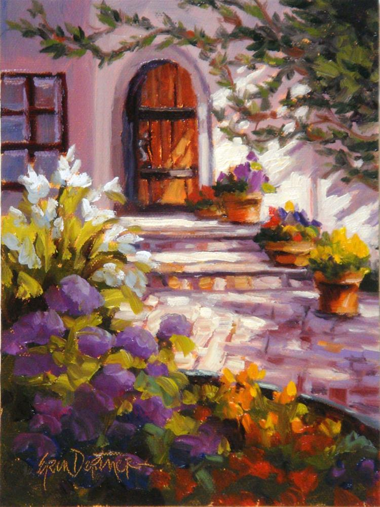 """Daydream Entrance"" original fine art by Erin Dertner"