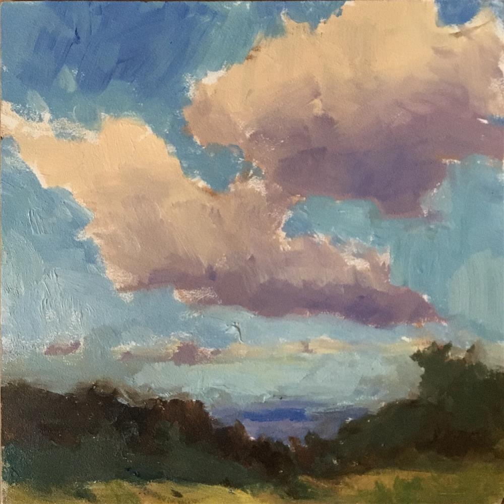 """Way Up There"" original fine art by Victoria  Biedron"