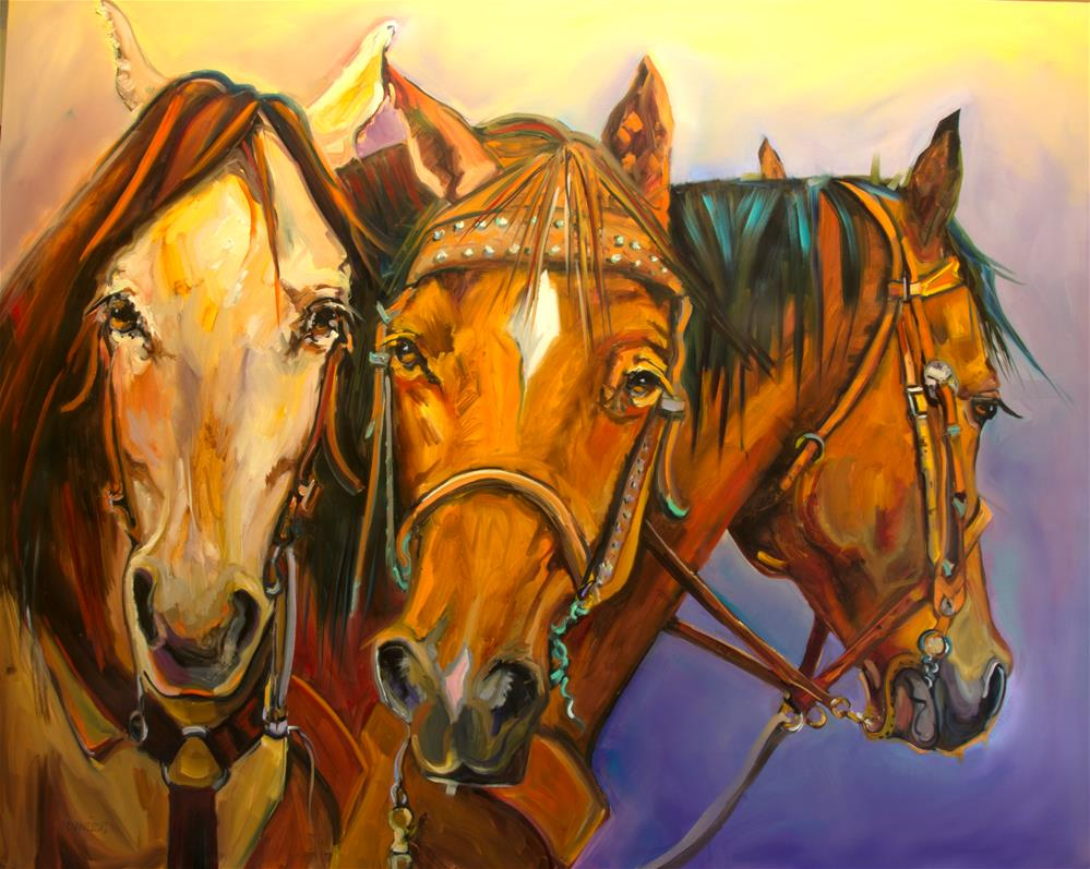 """All Dressed Up"" original fine art by Diane Whitehead"
