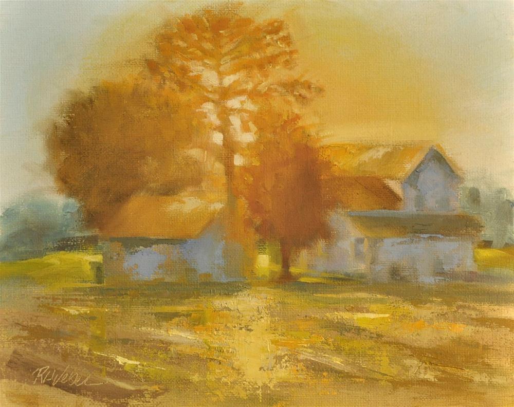 """Light Change"" original fine art by Rl Weber"