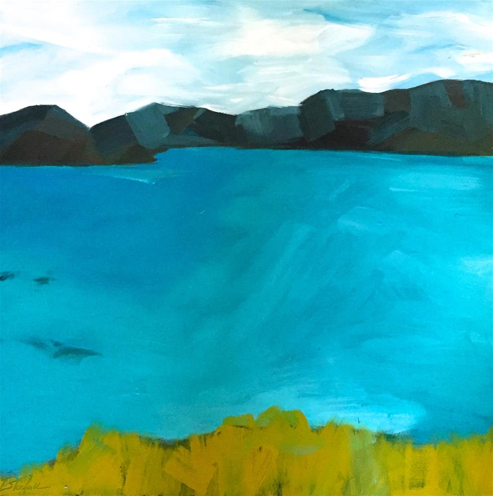 """Landscape 2 (12)"" original fine art by Janet Bludau"
