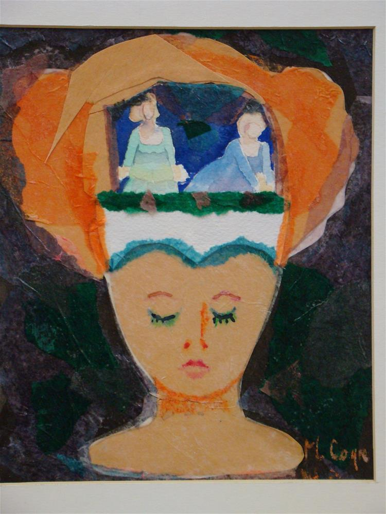 """mind games"" original fine art by meribeth coyne"