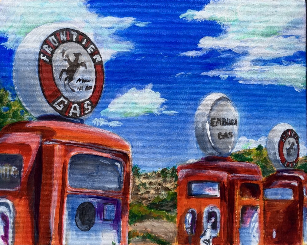 """Old Timey pumps"" original fine art by Colleen OHair"