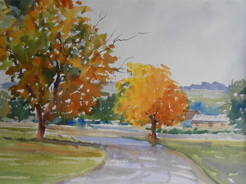 """Colours of Autumn"" original fine art by Graham Findlay"