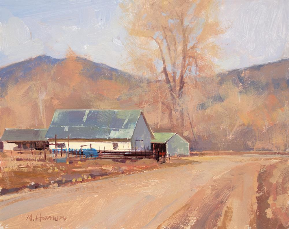 """2-18-1 St Vrain Farm"" original fine art by Marc Hanson"
