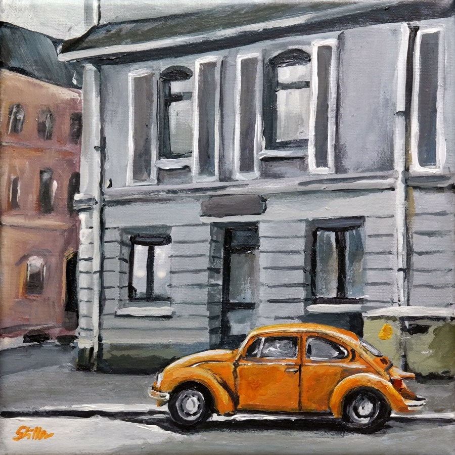 """1662 Sweet Beetle"" original fine art by Dietmar Stiller"
