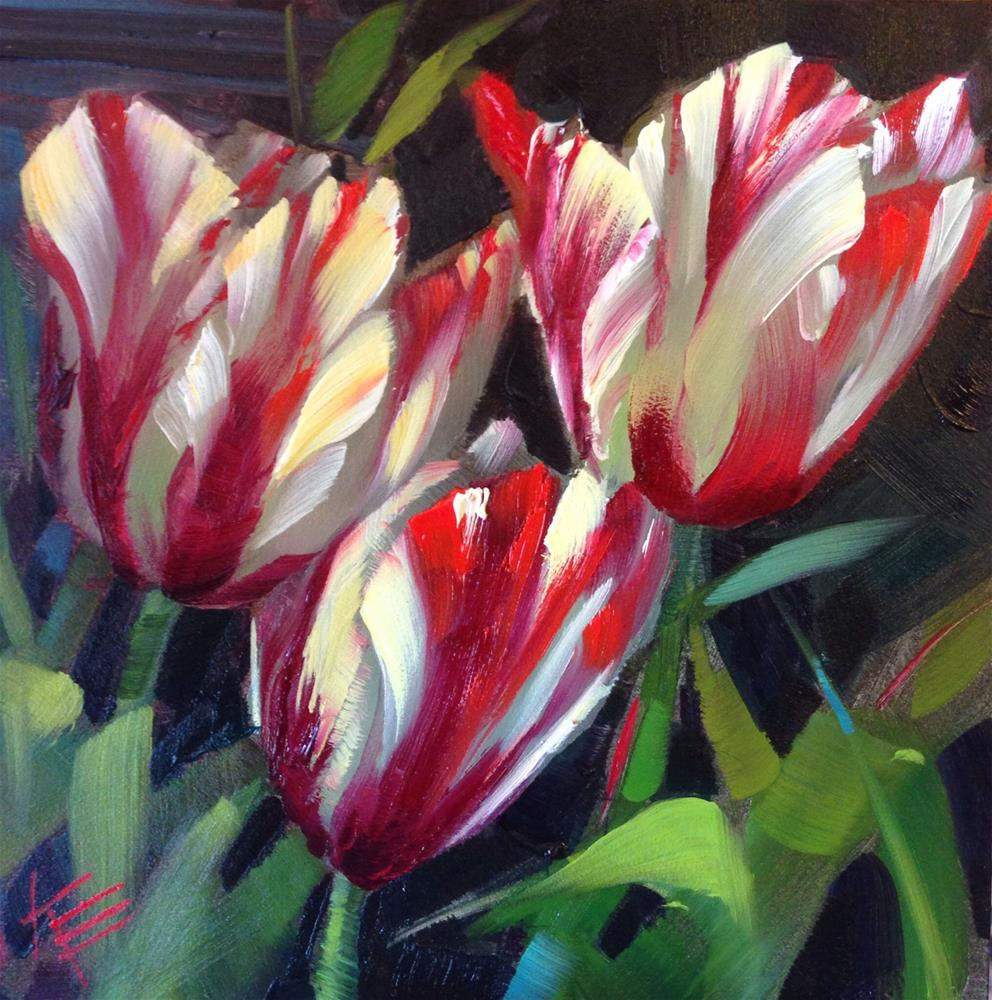 """""""With All my Heart"""" original fine art by Krista Eaton"""