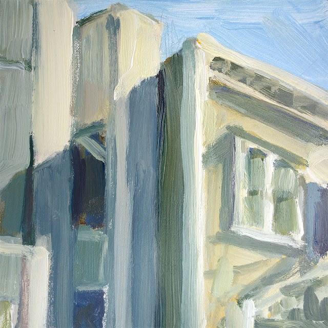 """""""Alley Study"""" original fine art by J. Farnsworth"""