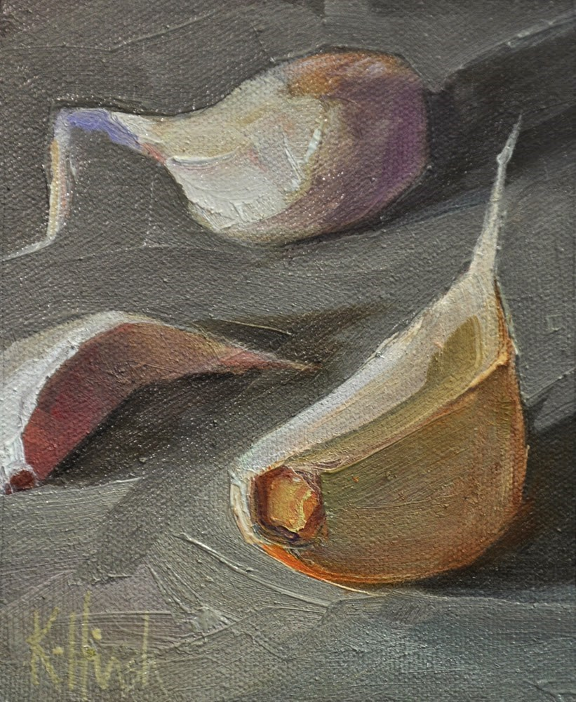 """Study in Grey 3"" original fine art by kathy hirsh"