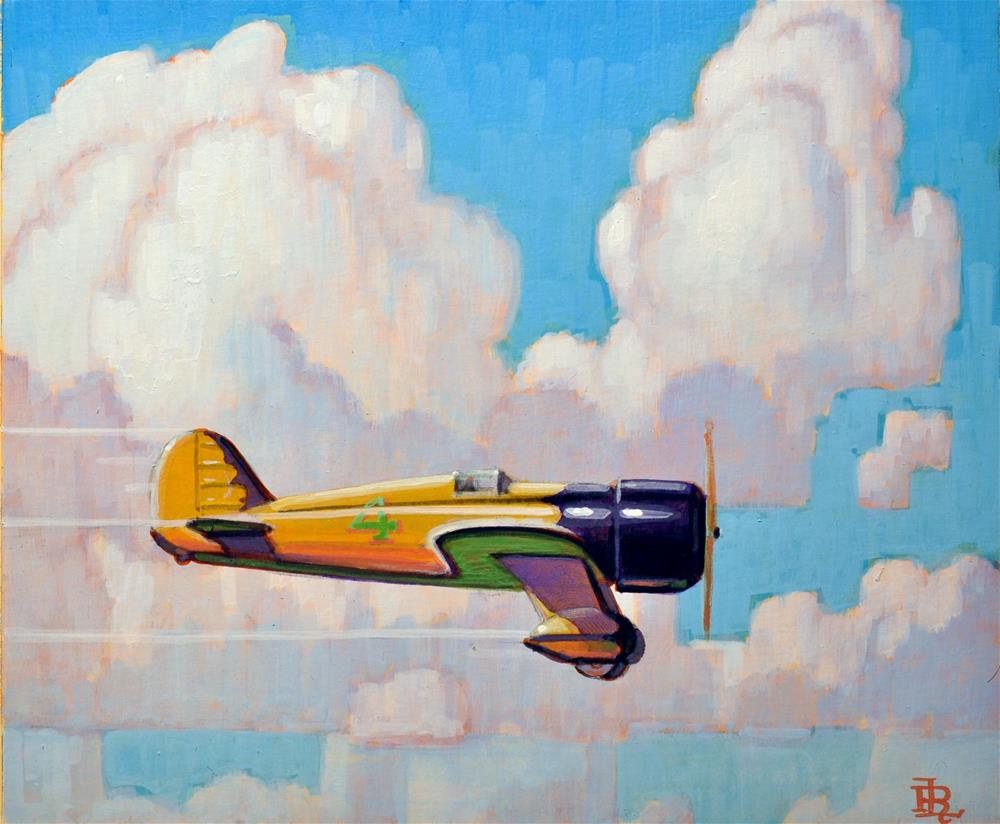 """Thunder"" original fine art by Robert LaDuke"