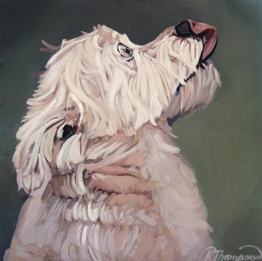 """Callie - Day 24"" original fine art by Rachel Thompson"