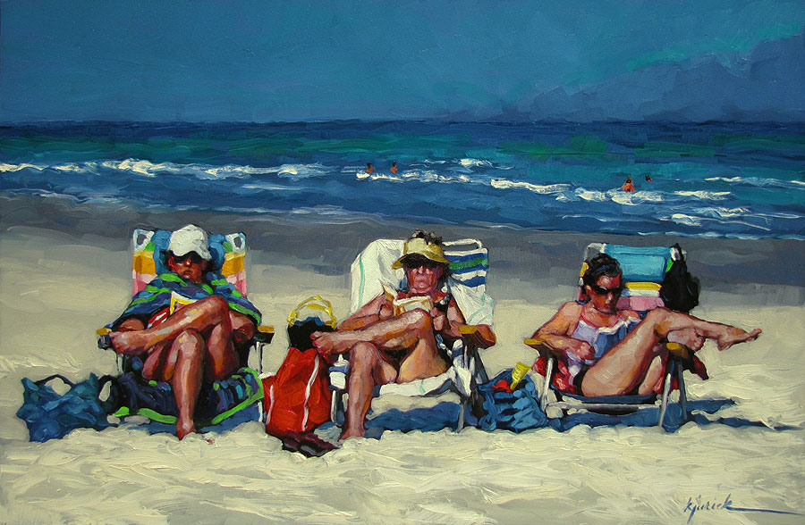 """Lost At Sea"" original fine art by Karin Jurick"