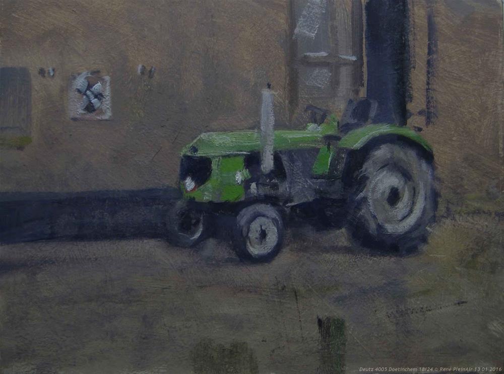 """Paint-out Pictura Gelria Doetinchem, The Netherlands"" original fine art by René PleinAir"