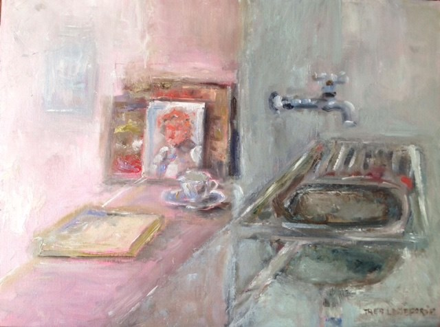 """Ryno's Studio"" original fine art by Thea Lombaard"