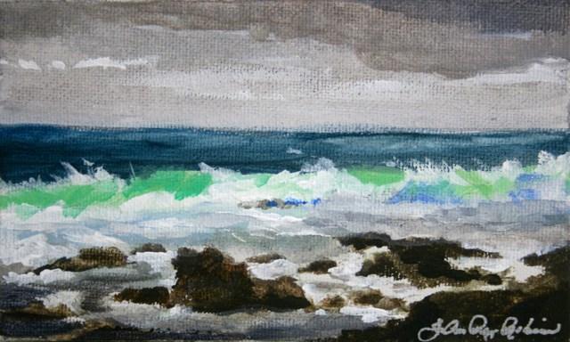 """""""Stormy"""" original fine art by JoAnne Perez Robinson"""