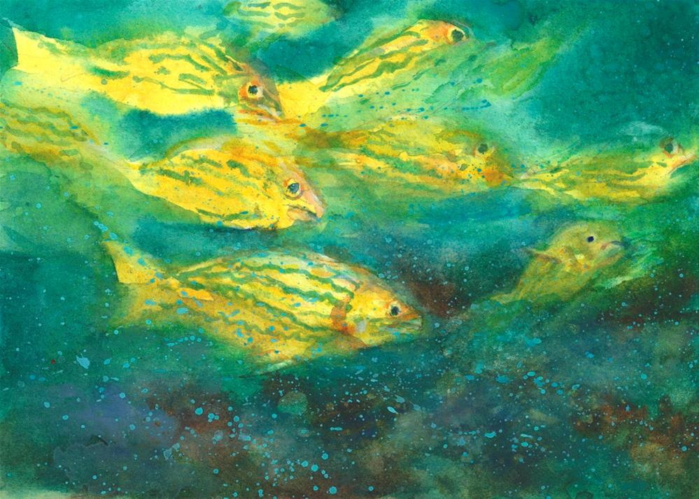 """""""Gifts of the Sea"""" original fine art by Linda Henry"""