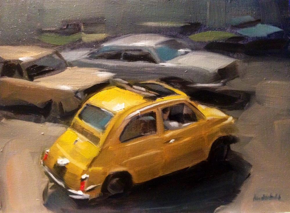 """Milano 1971"" original fine art by Thomas Ruckstuhl"