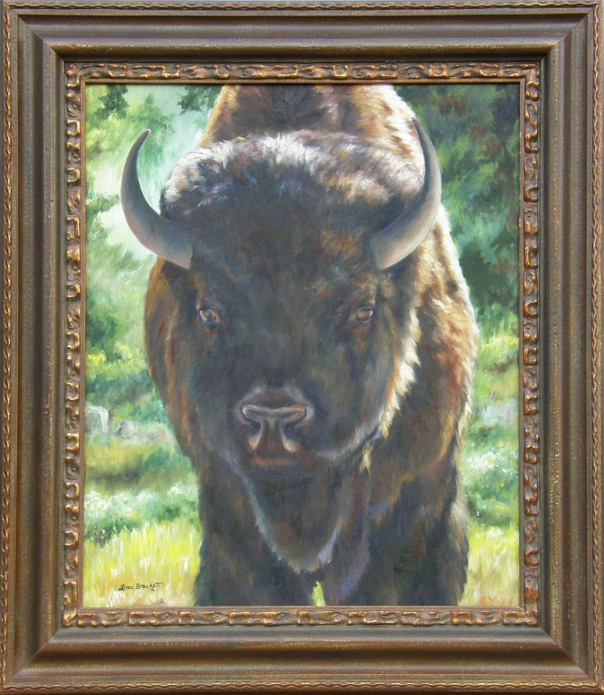 """""""Scout"""" original fine art by Lori Brackett"""