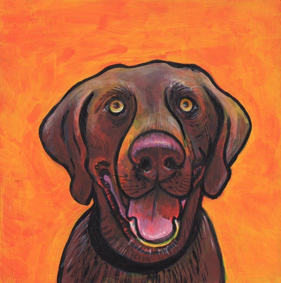 """""""Oh Henry"""" original fine art by Judy Butler"""