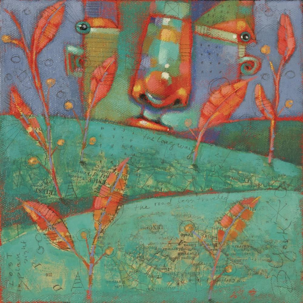 """The Road Less Travelled"" original fine art by Brenda York"