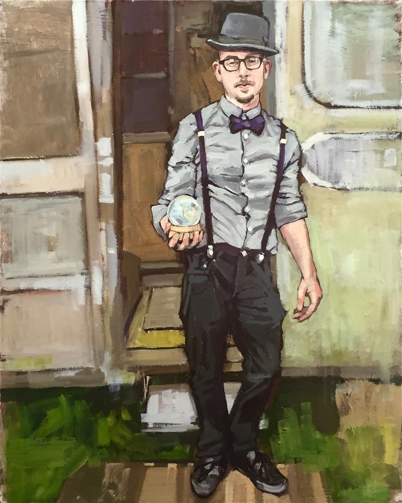 """""""Ry"""" original fine art by Chris Long"""