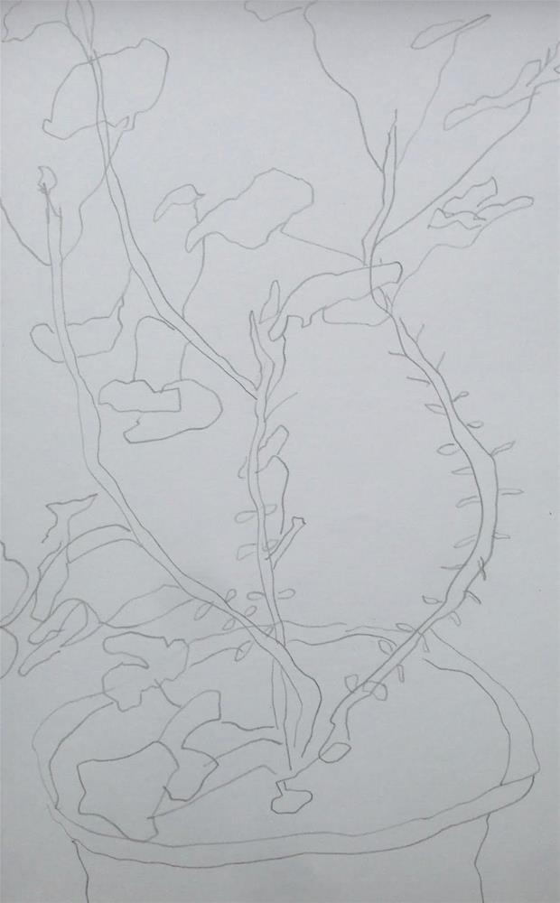 """""""Heinz 57"""" original fine art by Dotty Seiter"""