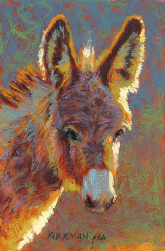 """Donna Kylisha"" original fine art by Rita Kirkman"