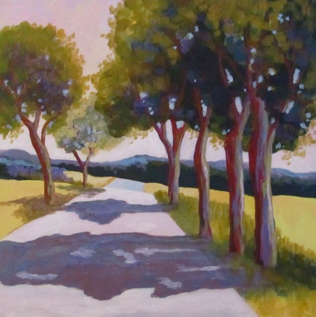 """Early Evening"" original fine art by Patricia MacDonald"