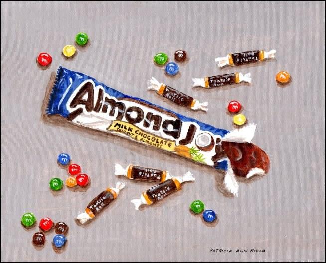 """Chocolate Joy"" original fine art by Patricia Ann Rizzo"