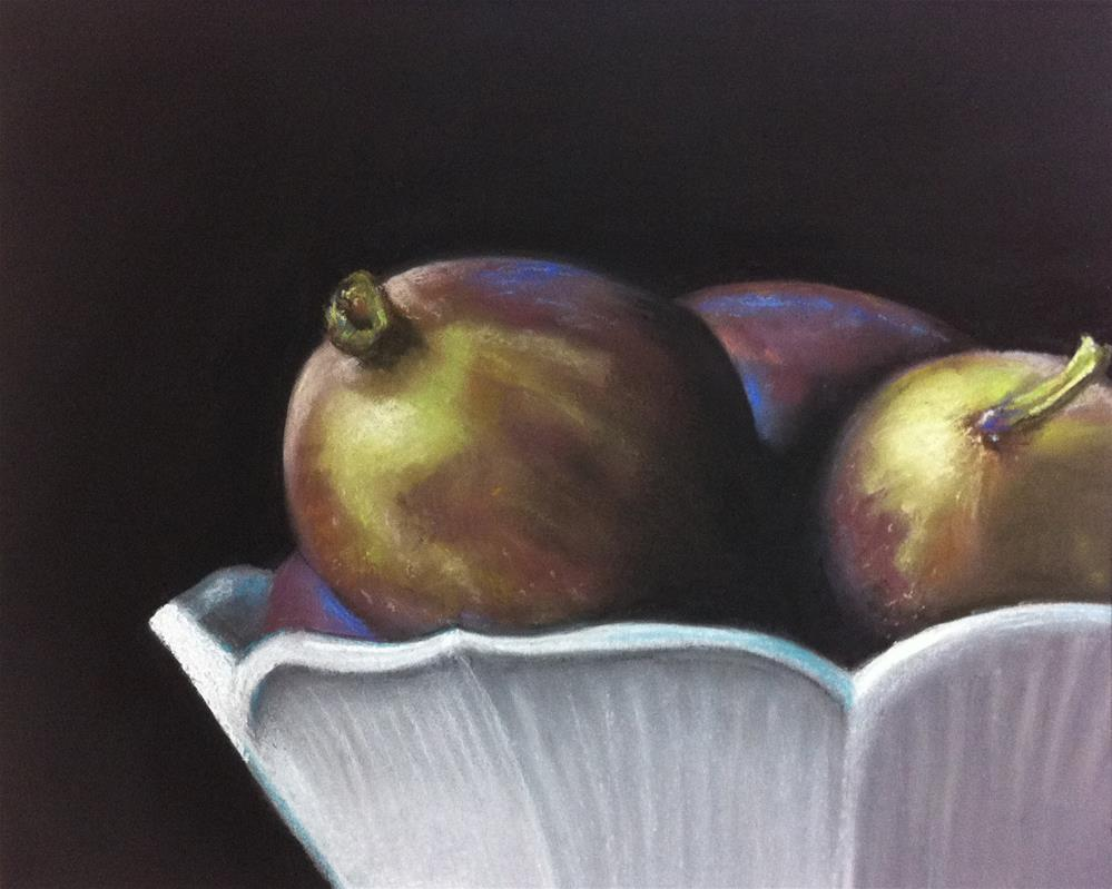 """Figs"" original fine art by Cristine Kossow"