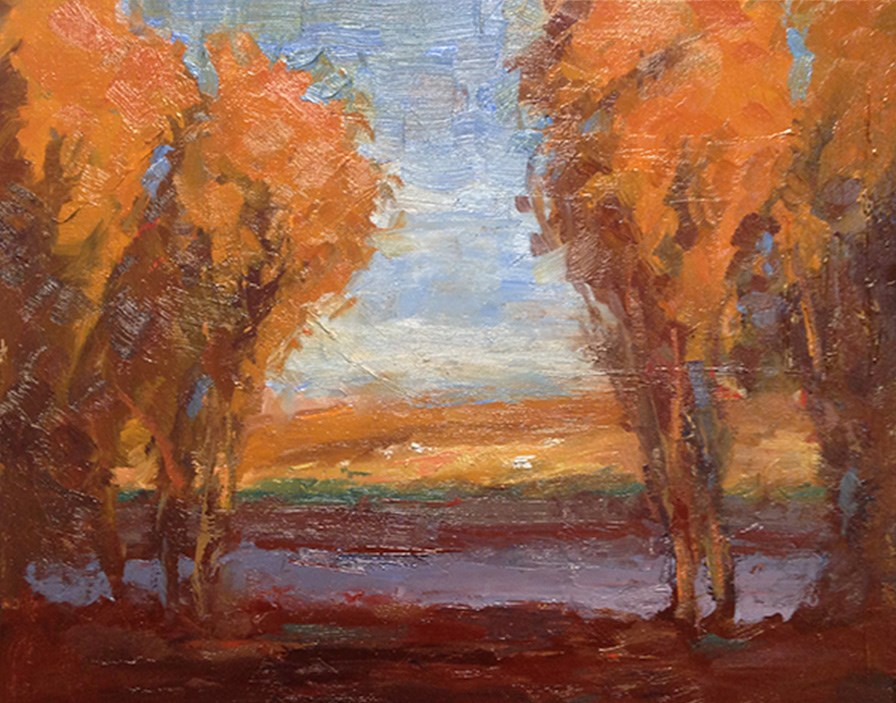 """Autumn"" original fine art by Fine Art of René"