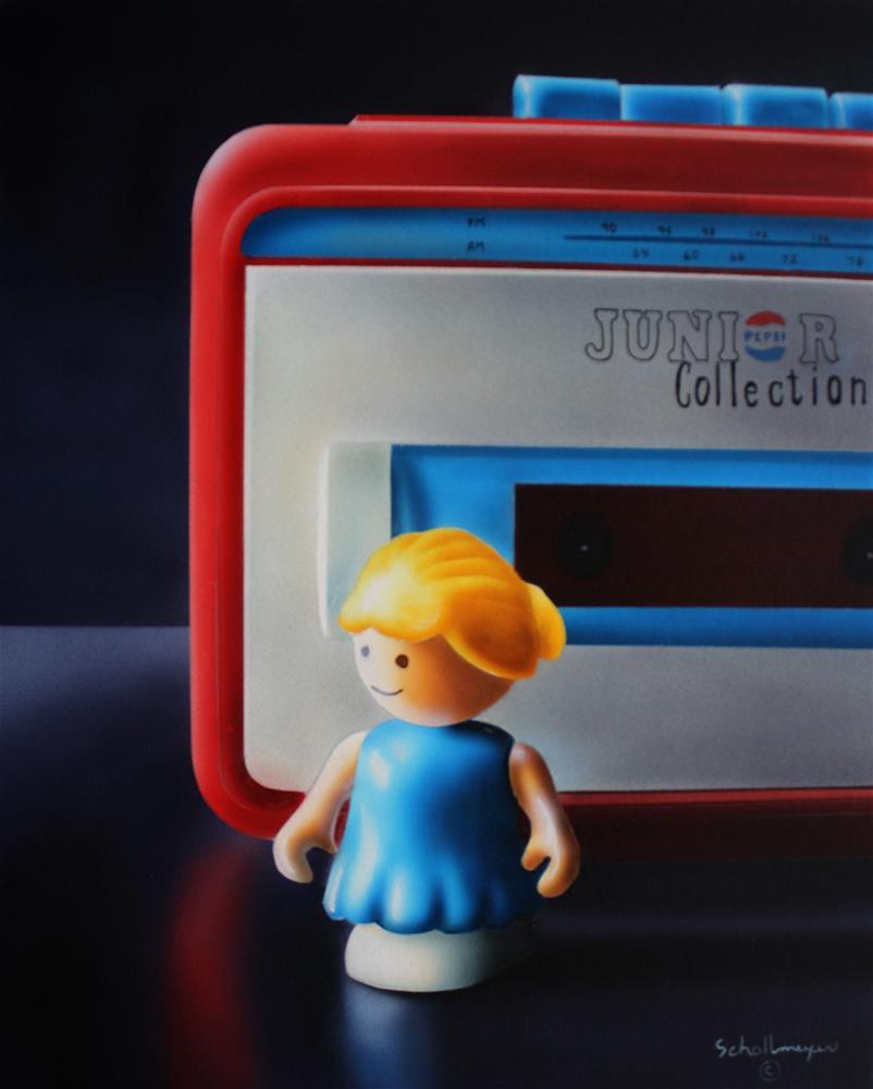 """""""Junior Collection"""" original fine art by Fred Schollmeyer"""