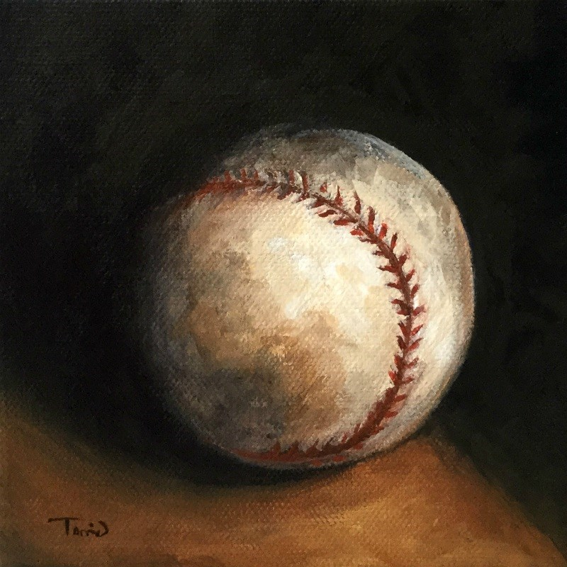 """Baseball VII"" original fine art by Torrie Smiley"