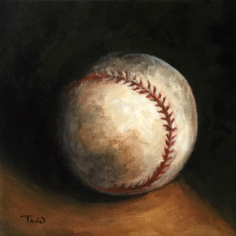 """""""Baseball VII"""" original fine art by Torrie Smiley"""