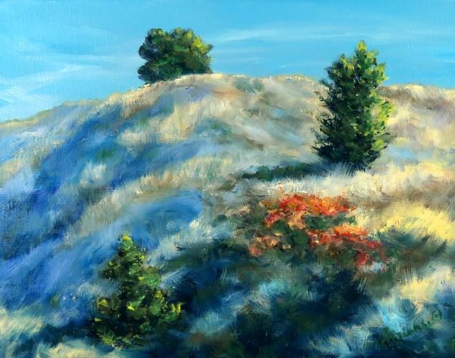 """Sunny Side Up"" original fine art by Carol Zirkle"