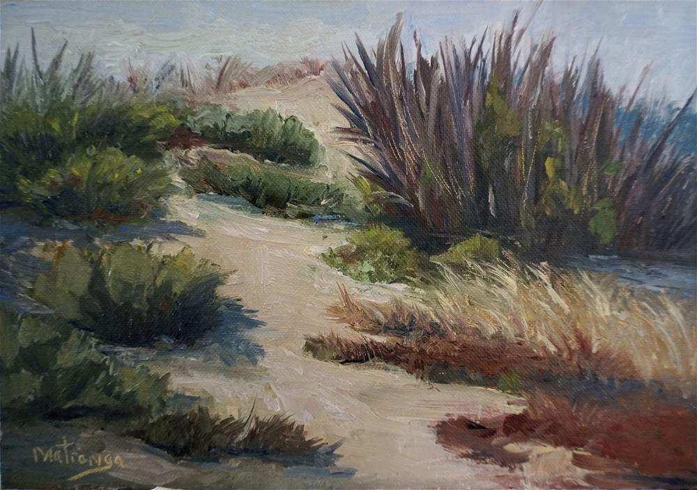 """Bolsa Chica Wetlands - Study"" original fine art by Patricia Matranga"
