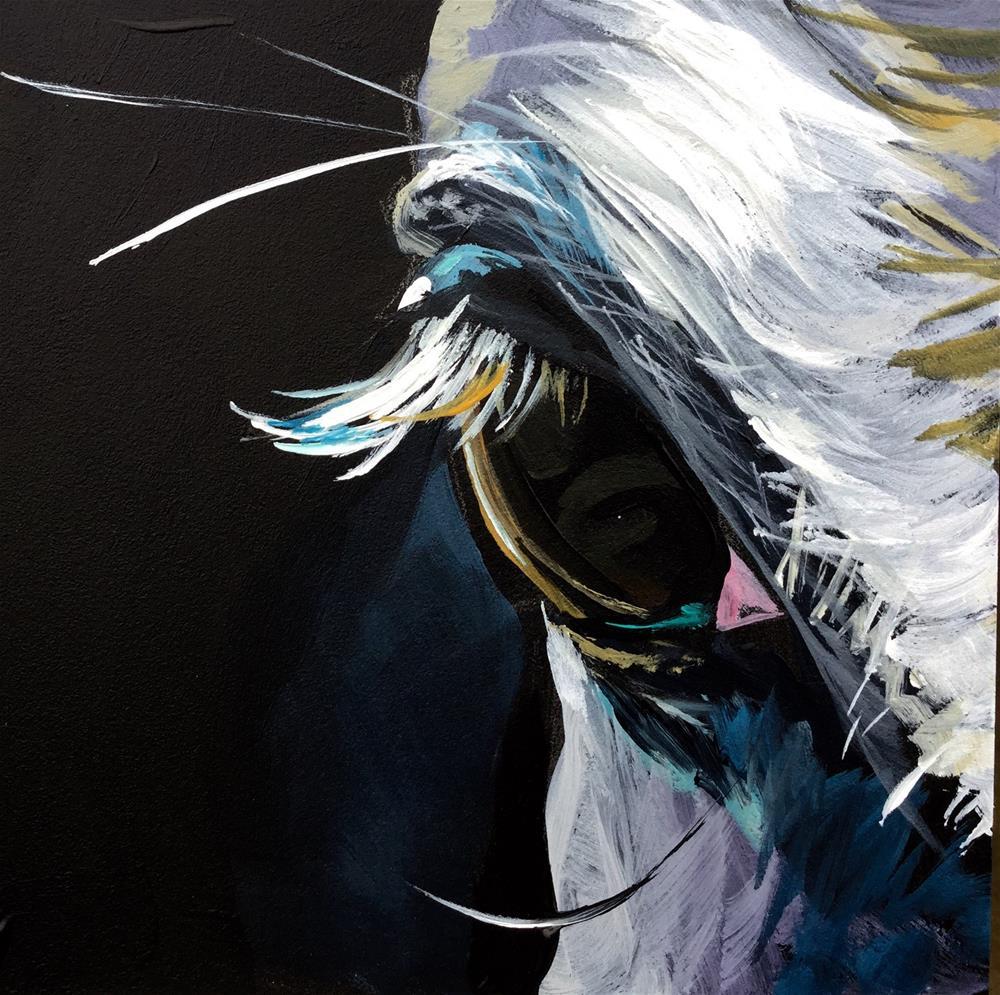 """Eye on You 2"" original fine art by Lauren Kuhn"