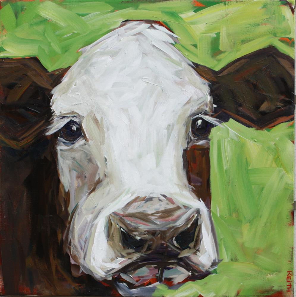 """Patty"" original fine art by Kandice Keith"