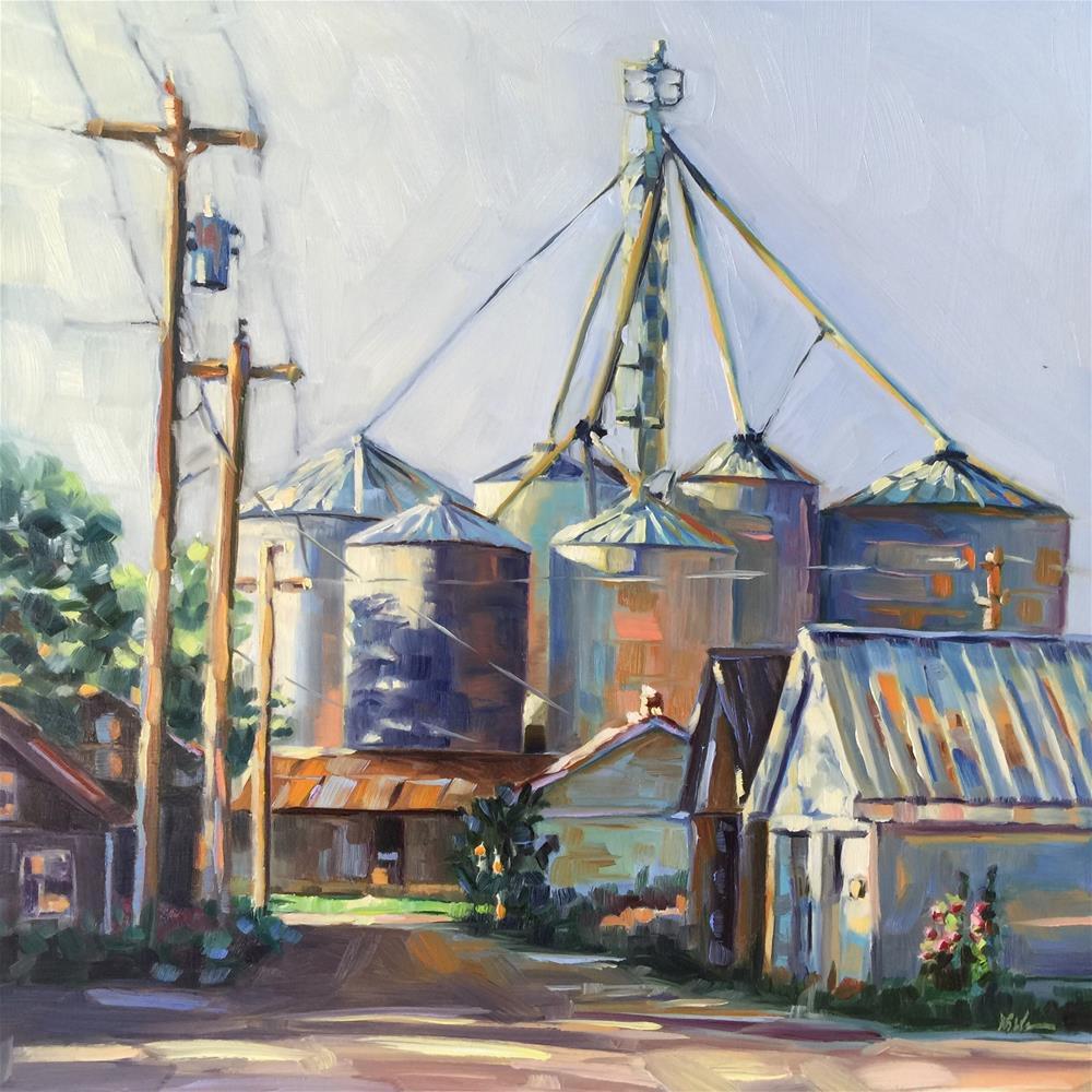 """""""Lighter Shades of Grain"""" original fine art by Mb Warner"""