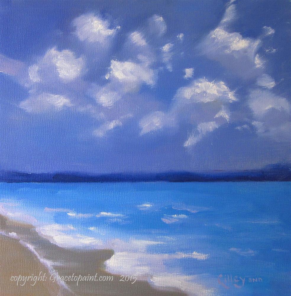 """Sea Billows"" original fine art by Maresa Lilley"
