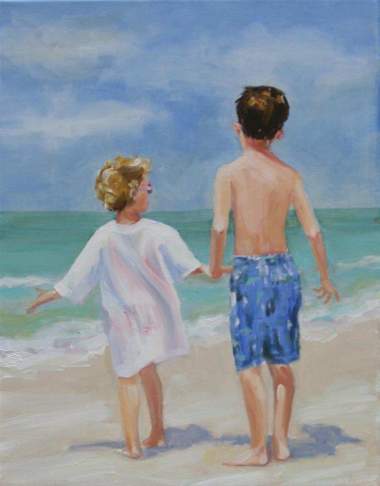 """back when"" original fine art by Carol Carmichael"