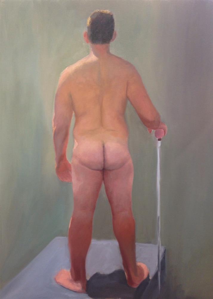 """""""Life Figure"""" original fine art by Karen D'angeac Mihm"""