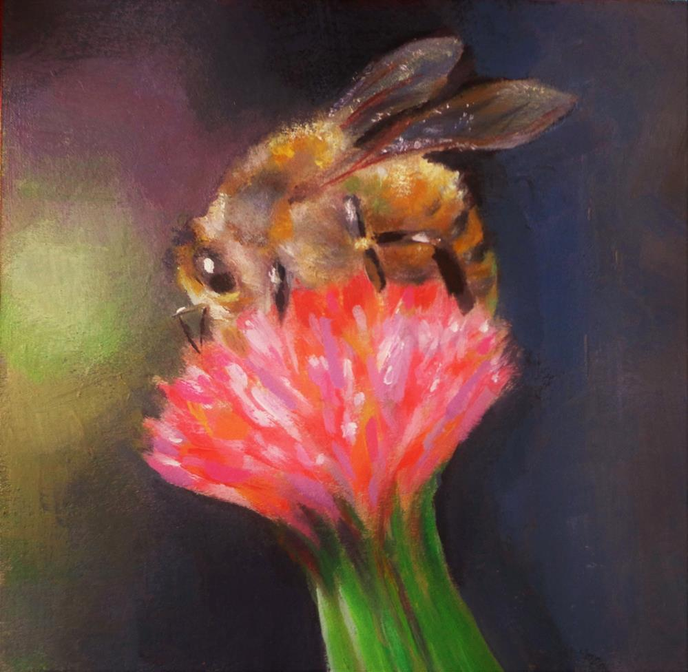 """Bee "" original fine art by Maria Z."