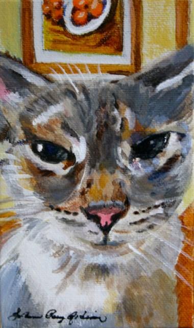 """Luis's Leelou"" original fine art by JoAnne Perez Robinson"