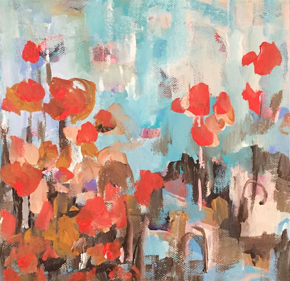 """Secret Garden"" original fine art by Molly Wright"