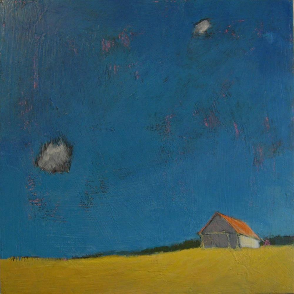 """Two Cloud Sky"" original fine art by Kristina Davidson"