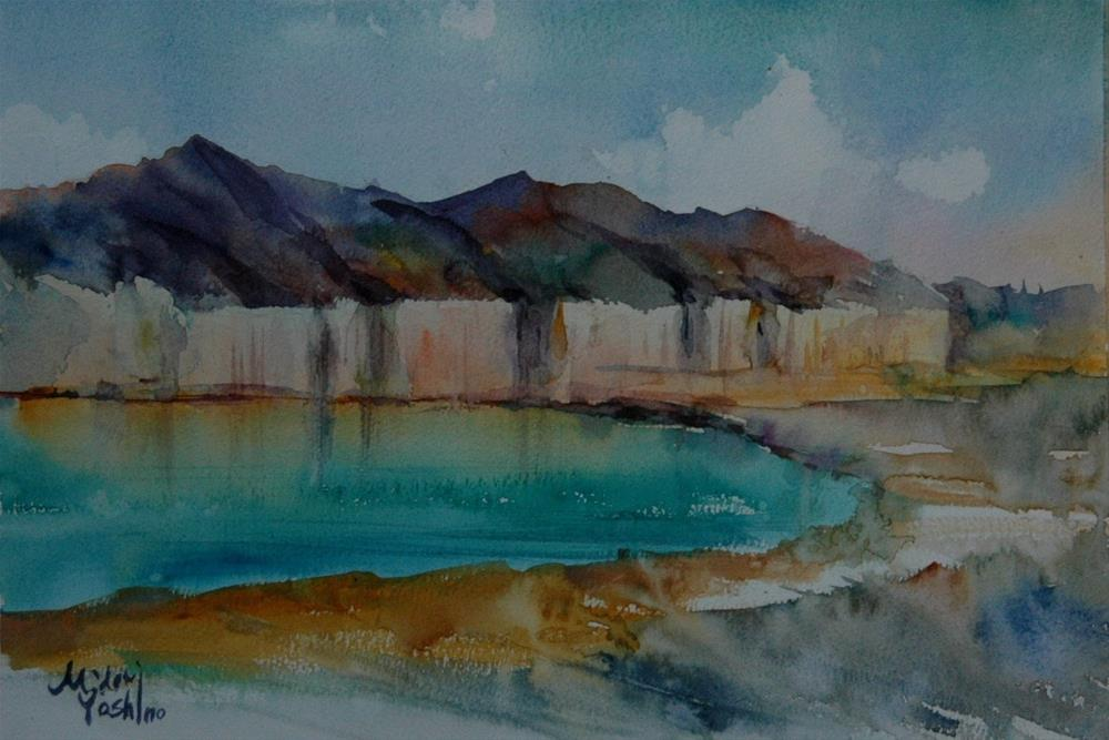 """From Al Ain"" original fine art by Midori Yoshino"