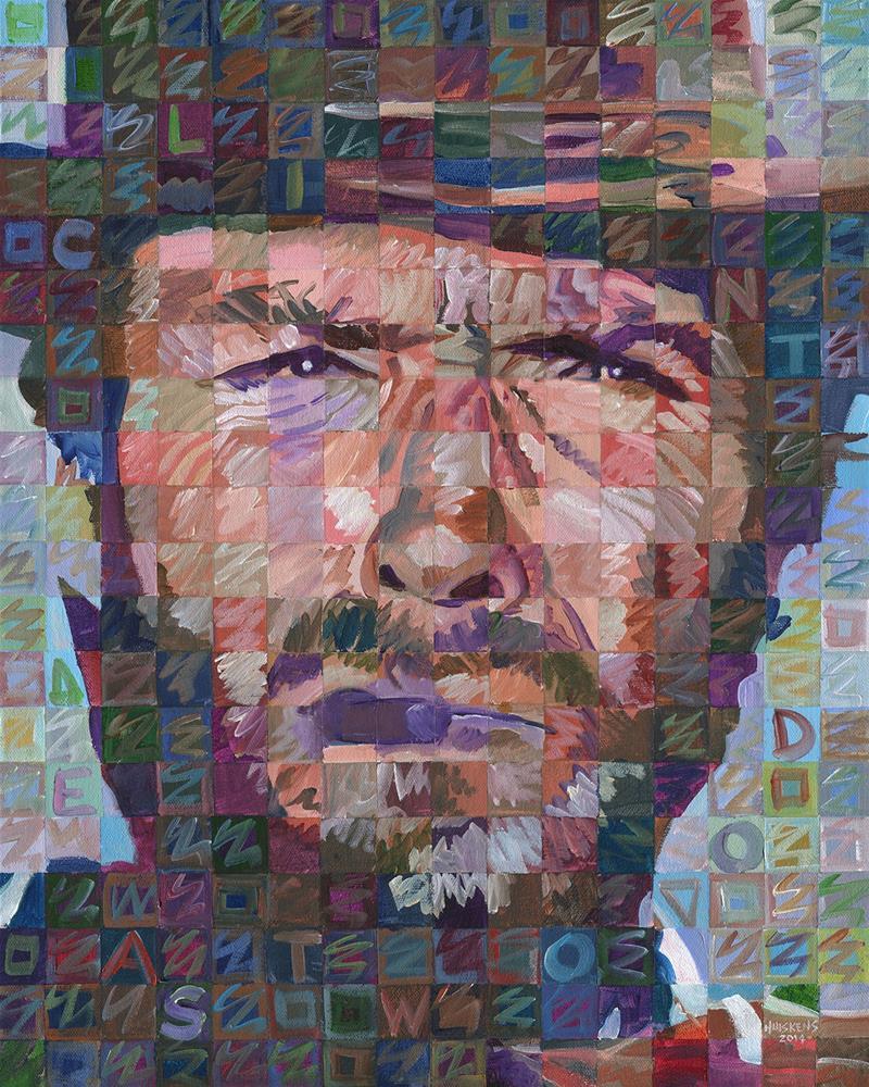 """""""Clint Eastwood 2014.02"""" original fine art by Randal Huiskens"""