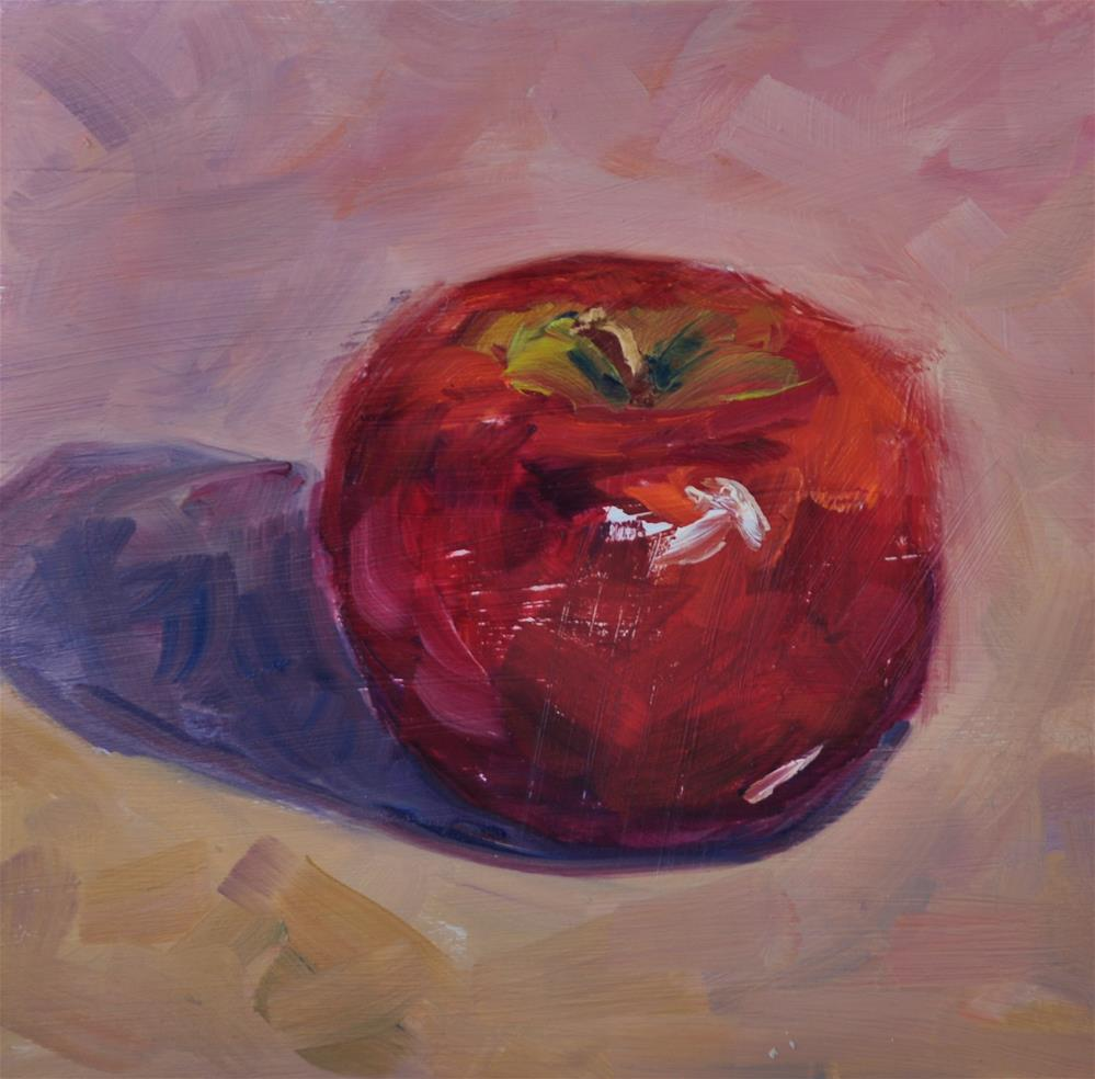 """Another Apple"" original fine art by Catherine Crookston"