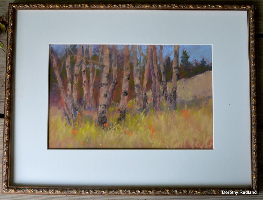 """""""   a Grovy grove"""" original fine art by Dorothy Redland"""